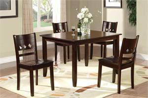 5 Piece Dining Set Art Deco Design