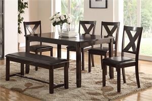 6 Piece Dining Set F2297