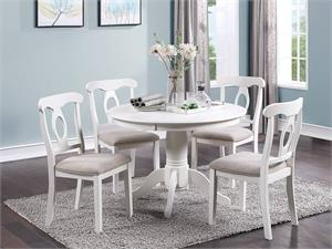 Round Dining Set Poundex F2560