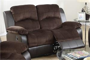 Recliner Sofa Collection Poundex F6696.f6695 poundex