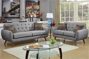 Sofa and Loveseat F6912 Poundex,f6912 poundex