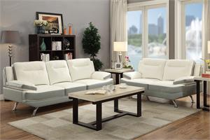 Carmen Sofa and Loveseat Set F7981,f7891 poundex
