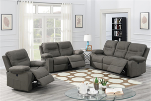 Gianna Power Recliner Sofa Set,f86242 poundex, f86243 poundex,f86241 poundex