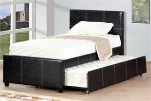 Bed with Trundle F9214 Poundex,F9214 poundex,F9214T poundex,F9214F poundex