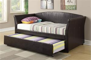 Twin Bed with Trundle F9221,F9221 poundex