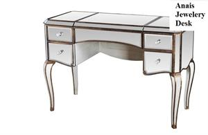 Anais Mirrored Jewelery Desk,mirrored desk,FRA2018 best master
