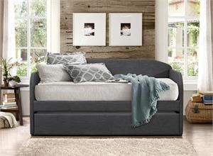 Dark Grey Fabric Day Bed,HM4950GY homelegance