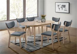 Kochab Oval Dining Set,cm3876ot,cm3876 furniture of america