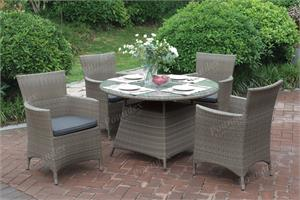 5 Piece Outdoor Dining Set Poundex 209