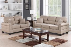 Sofa and Loveseat F7879 Poundex,f7879 poundex