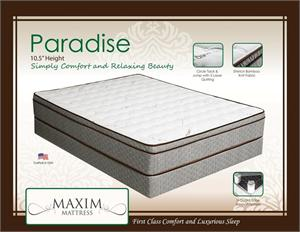 Paradise Mattress by Maxim Mattress
