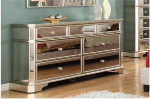 Pascual Mirrored Nightstand-Dresser-Ches,t1830 bestmaster