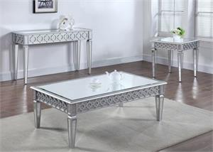 Marvelous Silver Mirror Coffee Table And Sofa Table T1840