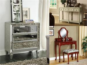 ● Console, Bombay Chest ,Vanity and More