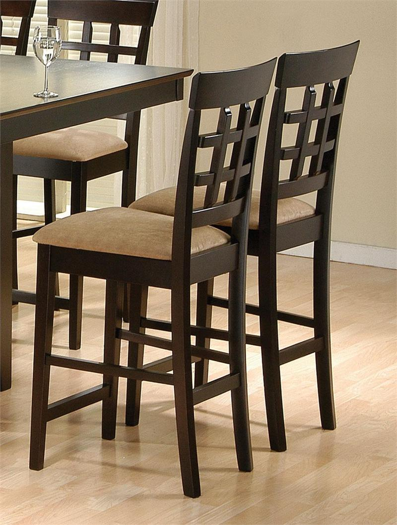 Square Counter Height Table With Lazy Susan Stool 100209