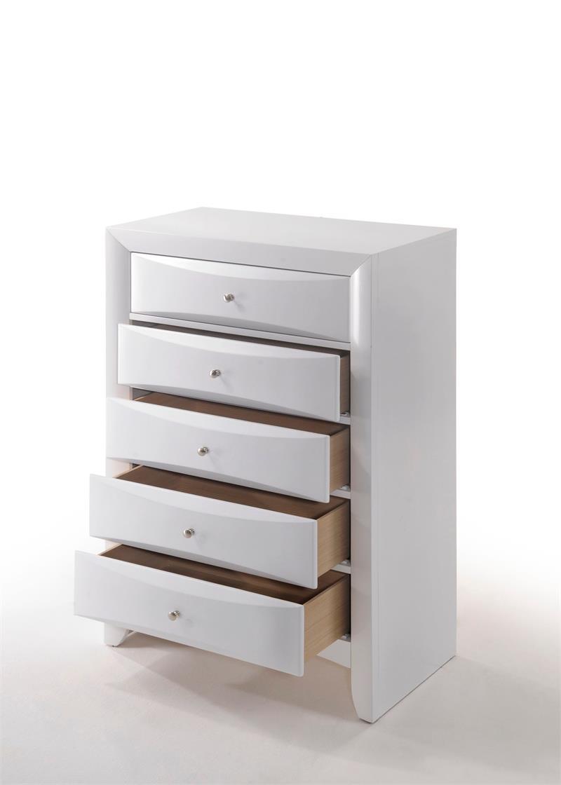Ireland White Storage Bedroom Set