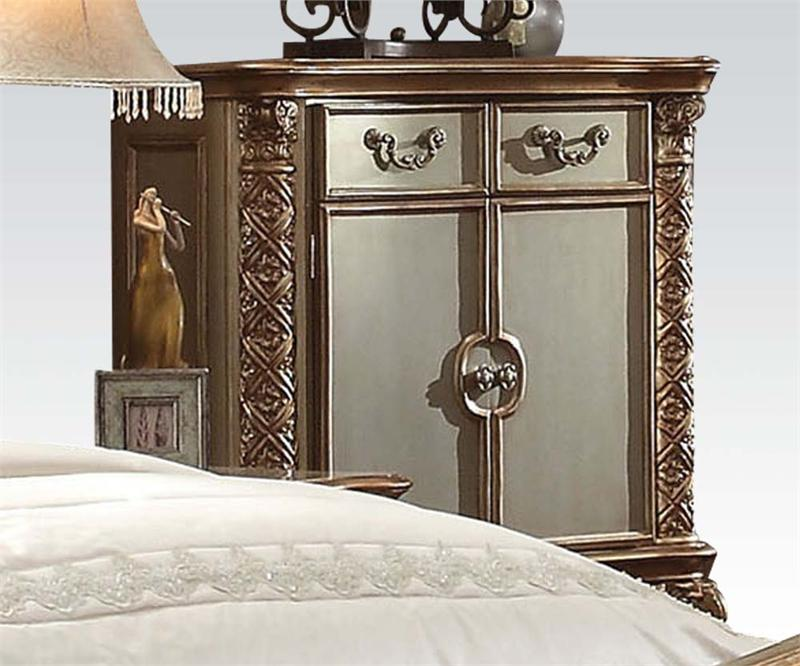 Vendome Gold Bedroom Collection Acme 23000