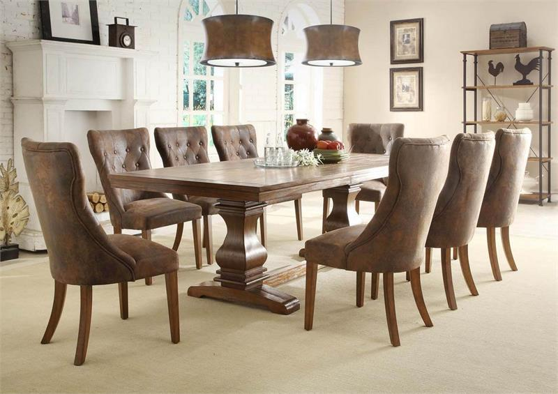 2526 Homelegance Marie Louise Dining Collection