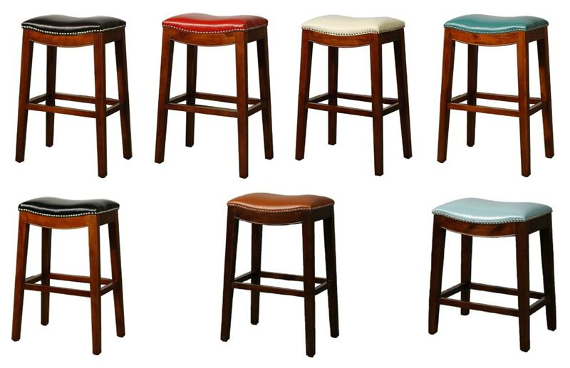 Awe Inspiring Elmo Bounded Leather Bar Stool Unemploymentrelief Wooden Chair Designs For Living Room Unemploymentrelieforg