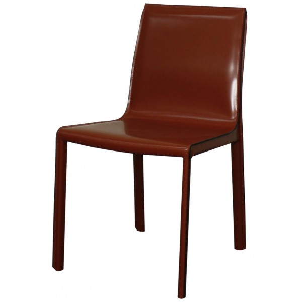 ... Gervin Recycled Leather Chair Cordovan Color Item 448233R 49