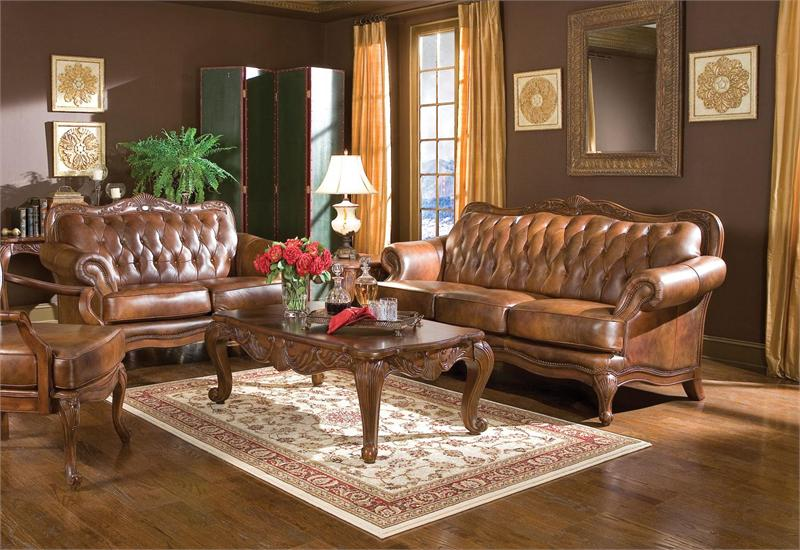 Victoria Traditional Sofa Set 500681