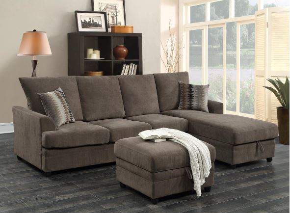 Coaster Moxie Sectional with Sleeper