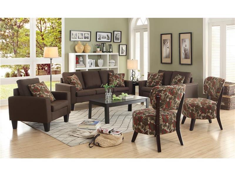 Bachman Chocolate Sofa Collection 504767
