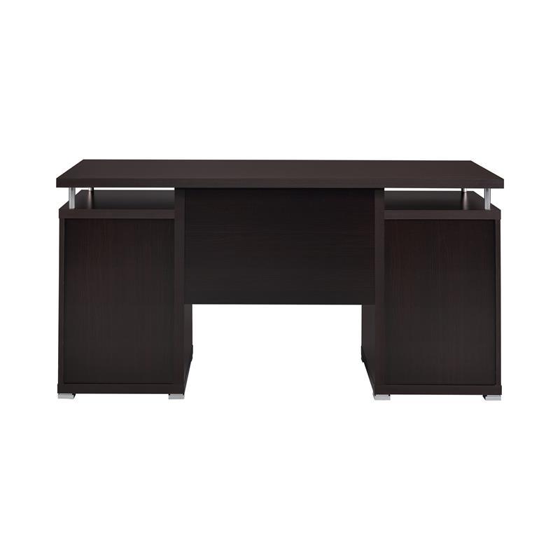 Computer Desk Cuccino By Coaster 800107