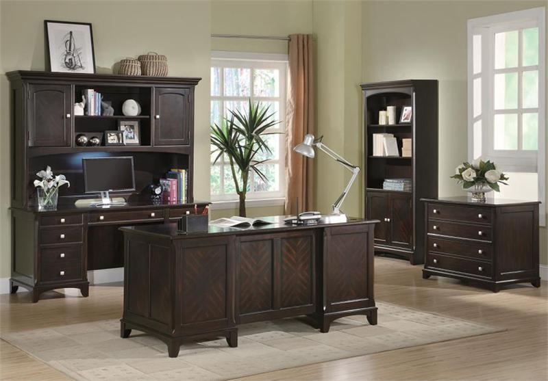 Superieur Garson Executive Office Set Item 801012