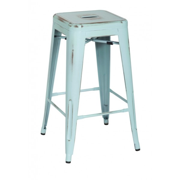 Super Distress Metropolis Metal Counter Stool Caraccident5 Cool Chair Designs And Ideas Caraccident5Info