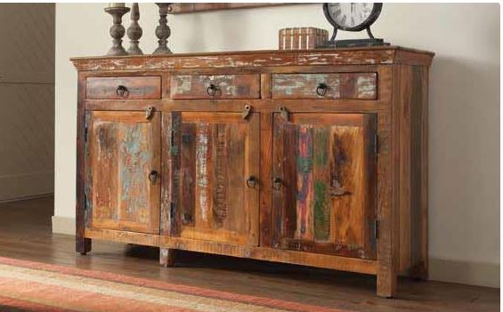 Reclaimed Wood Cabinet. & 950367 Coaster Reclaimed Wood Cabinet