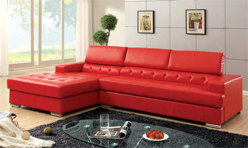 Floria Red Sectional CM6122RD