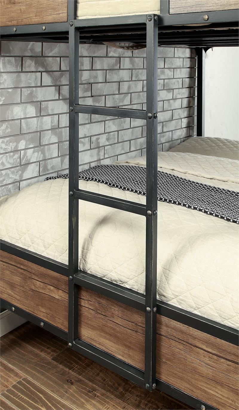watch 1ed9b 20d1e Clapton Industrial Looking Bunk Bed