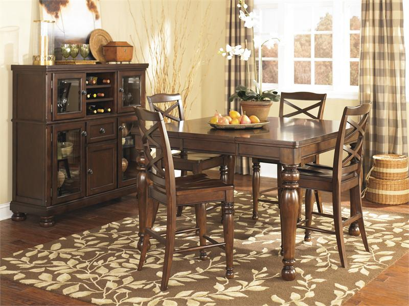 Height Dining Room Table Collection Beauteous Porter Counter Height Dining Setashley Furniture Decorating Inspiration