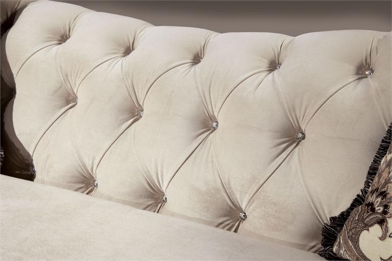 Marvelous Antionette Sofa Set Ivory Sm2221 Machost Co Dining Chair Design Ideas Machostcouk