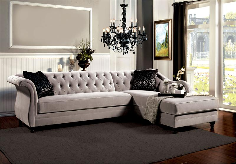 Sm2261 Furniture Of America Rotterdam Sectional