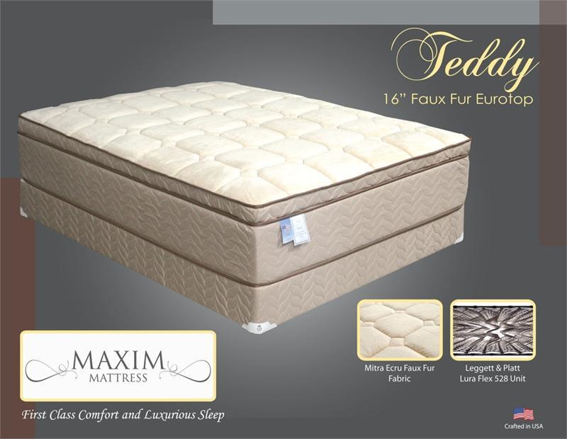 Teddy Plush Mattress By Maxim Mattress