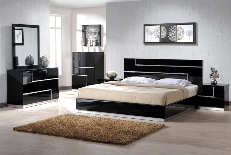 Barcelona Bedroom Set - 1 bedroom furniture packages