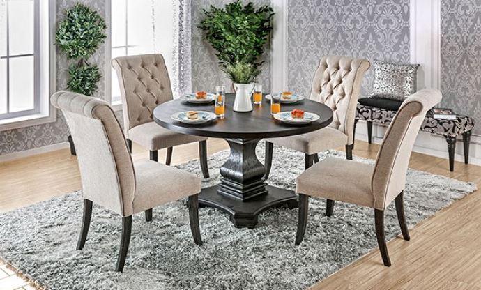 Nerissa Round Dining Set CM3840
