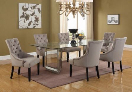 T1805 Mirror Dining Set