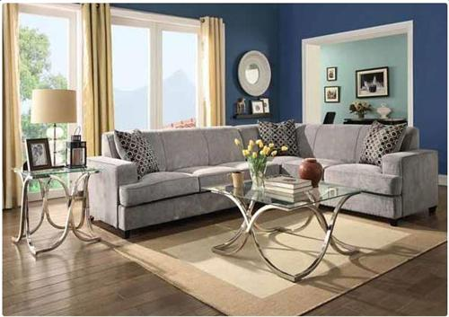 Tess Sectional Sofa Sleeper 500727 Coaster ...