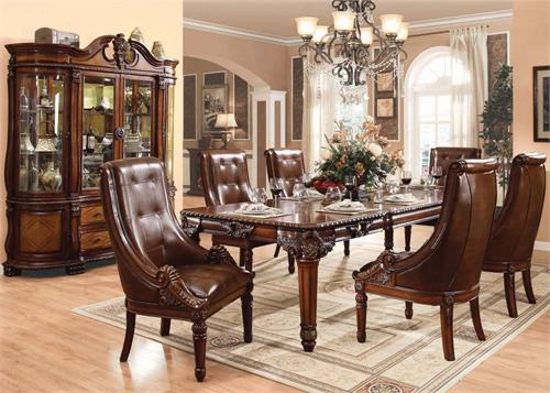 Winfred Acme Dining Collection Rh Romdecor Com Furniture Formal Room Sets 61150