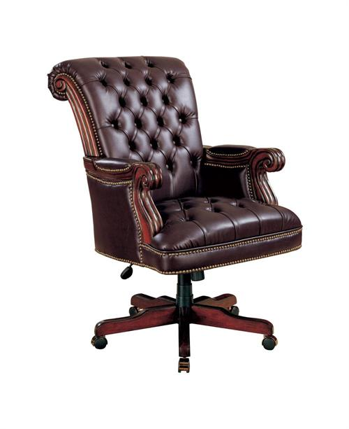 Burgundy Executive Office Chair,800142 by coaster