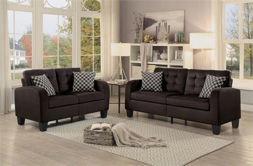 Sinclair Chocolate Sofa Set Collection,8202ch homelegance,8202 homelegance