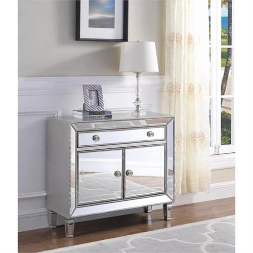 Mirror Accent Cabinet 950830 by Coaster Furniture