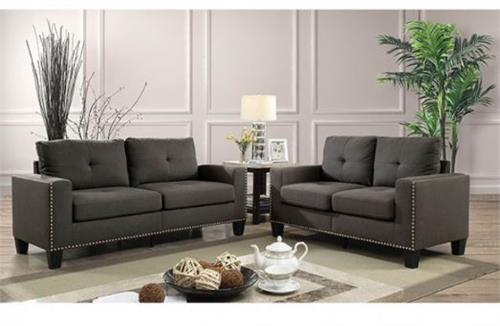 Attwell Sofa and Loveseat Set,cm6594 furniture of america