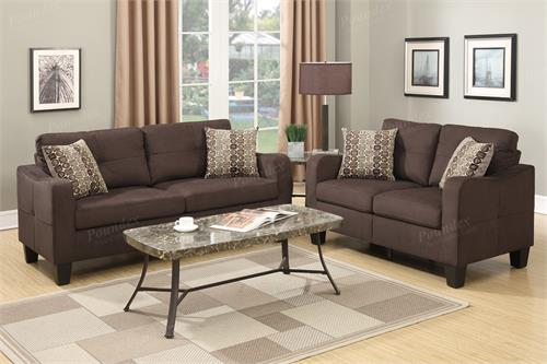 poundex recliners amazon saddle microfiber com fabric set with dp cupboard furniture sofa