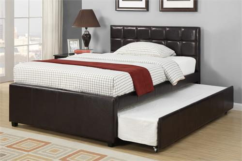 F9215 Poundex bed with trundle