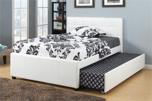 Twin/Full Bed with Trundle F9216 Poundex,f9216 poundex