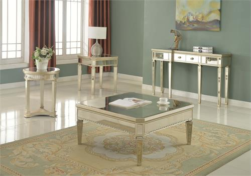 Mirror Coffee Table Set T1830